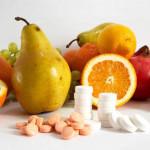 Процентное содержание витамина A в продуктах. Витамин A