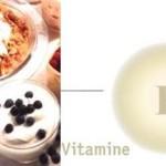 Процентное содержание витамина E в продуктах. Витамин E